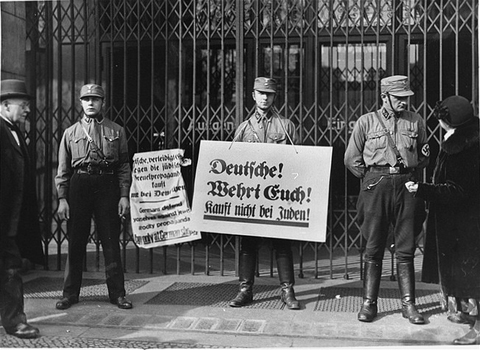 The persecution of German Jews after the Nazi seizure of