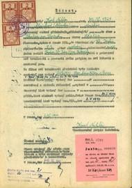 Natzler Kurt: Žádost opotvrzení totožnosti